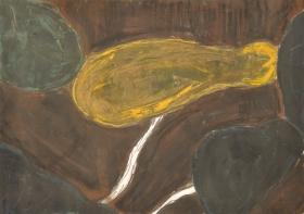 Pumpkin, 30*40cm, pastel, acrylic on paper, 2017.10