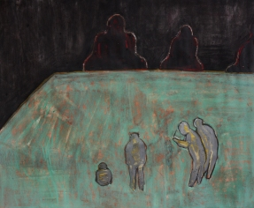 Pray, 40*60cm, pastel, acrylic on paper, 2018.3